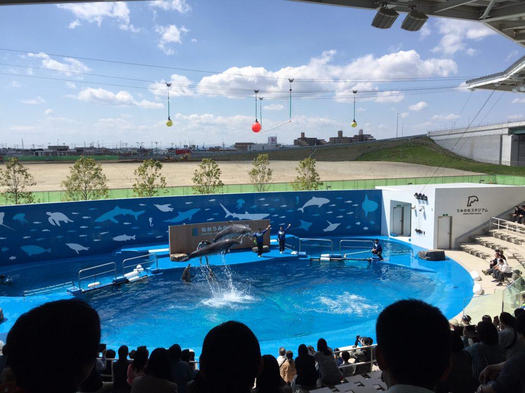 2年生  仙台コース @うみの杜水族館