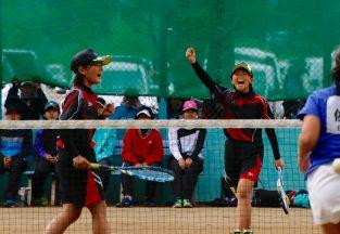 高校総体 ソフトテニス女子