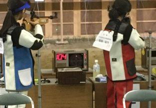 全国高等学校ライフル射撃選手権大会出場!