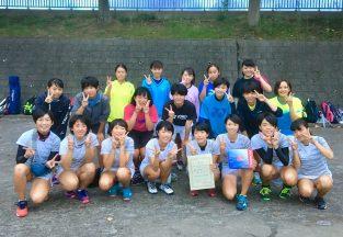 宮城県私立高等学校ソフトテニス大会 東北私立大会出場決定!